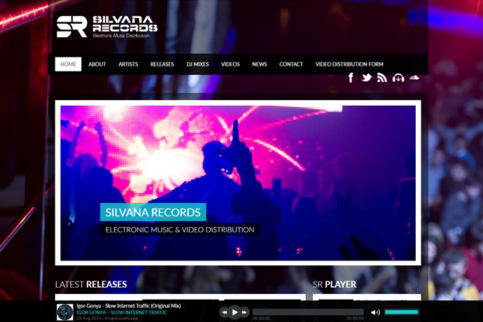 Silvana Records Web Sitesi